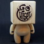 Fo' Chisel Wooden Figure